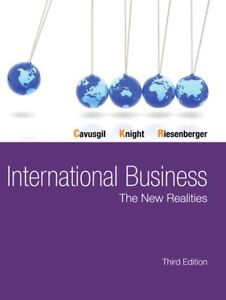 International Business The New Realities 3rd Edition cavusgil