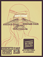 Dirty Jeans, Altobeelays, Strange Daze, Anxious Giant LIVE May13