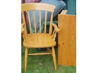 Carver Wooden Chair *FOR SALE*