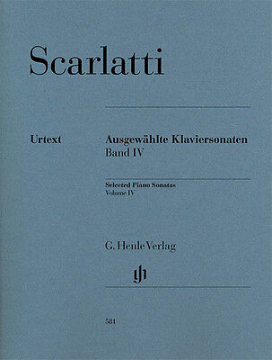 Scarlatti Selected Piano Sonatas Volume IV Sheet Music NEW 051480581