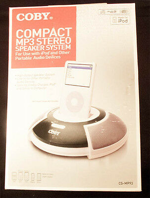 System Ipod Mp3 (Coby Compact Ipod & MP3 Speaker System)