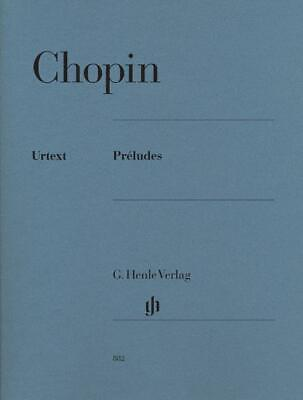 CHOPIN PRELUDES Distinctive Masterworks Book /& CD