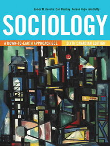 TESTBANK SOCIOLOGY A Down-to-Earth Approach 6th Canadian Edition Kitchener / Waterloo Kitchener Area image 1