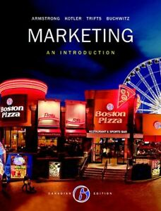 COMM 223 - Marketing: An Introduction - 6th Canadian edition