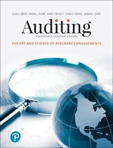 Auditing: The Art and Science of Assurance Engagements, 14th Ed