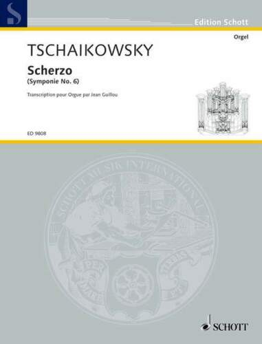 Tchaikovsky+-+Scherzo+%28Symphony+no.6%29+transcribed+for+Organ+by+Guillou+-+Schott