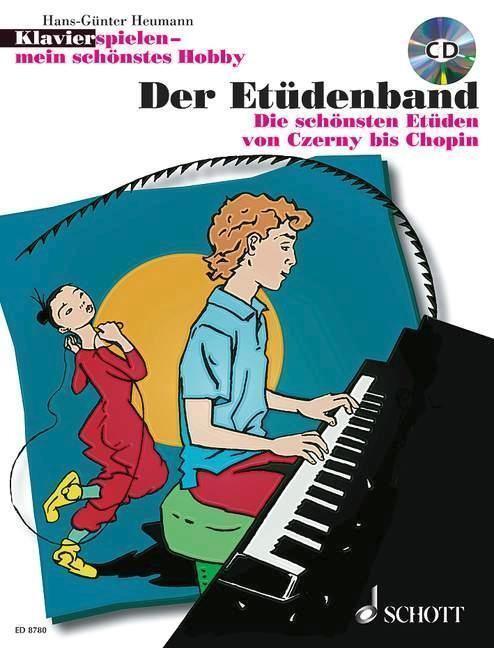 Klavierspielen - mein schönstes Hobby. Der Etüdenband - Hans-Günter Heumann