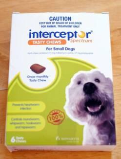 Interceptor Spectrum For Dogs 4-11kg Green 4 chews Hurstville Hurstville Area Preview