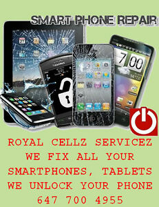 Samsung iPhone, LG Nexus, HTC Cell Phone Repair Mississauga Spot