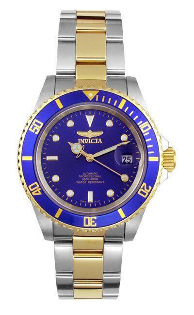top 10 invicta watches boasting 656 feet of water resistance and a skeleton case back the invicta men s 8928 pro diver watch is an automatic timepiece the watch features a blue