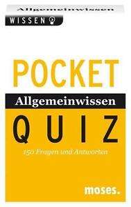Quiz Allgemeinwissen, Pocket Quiz, Moses Verlag