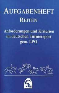 Aufgabenheft Reiten 2012  (Nationale Aufgaben). gem. LPO 9783885427612