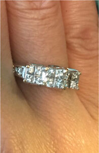 Beautiful Diamond Engagement or Anniversary Ring Edmonton Edmonton Area image 1