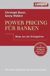 GEORG WüBKER - POWER PRICING FüR BANKEN