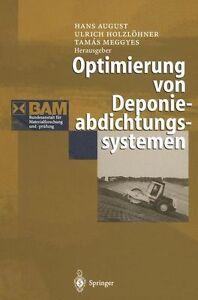 Optimierung von Deponieabdichtungssystemen (2011, Taschenbuch)