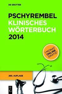 Pschyrembel Klinisches Wörterbuch (265. A.) (2013, Gebundene Ausgabe)