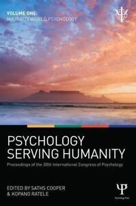 Psychology Serving Humanity Vol 1 Bookh Neu