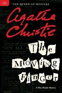 Agatha Christie - The Moving Finger - Paper Back Book