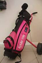 Cute junior golf club, bag and buggy all together for$110 Labrador Gold Coast City Preview