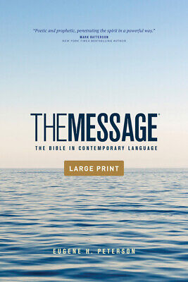 The Message Outreach Edition, Large Print (Softcover): The Bible In Contemp...