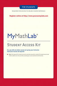 Student access code books ebay mymathlab student access code ebook 1 second delivery read before buying fandeluxe Image collections