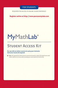 MyMathLab Student Access Code + eBook ! 1 Second Delivery ! Read Before Buying !