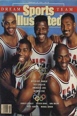 1992 Dream Team Sports Illustrated Autograph Replica Poster - Best Team