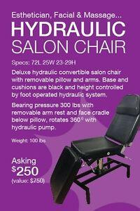 Esthetician, Facial & Massage Chair
