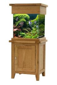 Fish tank c/w accessories £249.00 o.n.o.