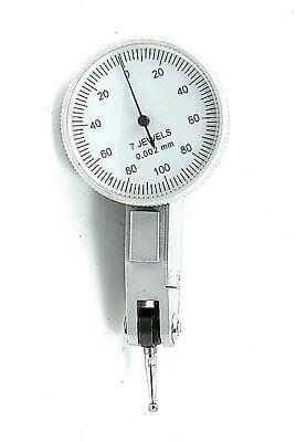 0.2mm X 0.002mm Metric Dial Test Indicator 4400-1014