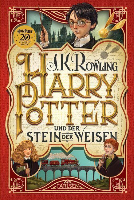 Harry Potter 1 und der Stein der Weisen | J.K. Rowling | 2018 | deutsch | NEU