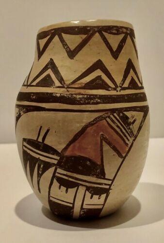 """Juanita Healing, Hopi Vase H- 4 ¼"""" , W- 3"""""""