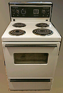 "Apartment size Electric Stove , GE, 24"" wide, for sale"