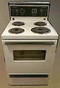 apartment size electric stove ge 24 wide for sale