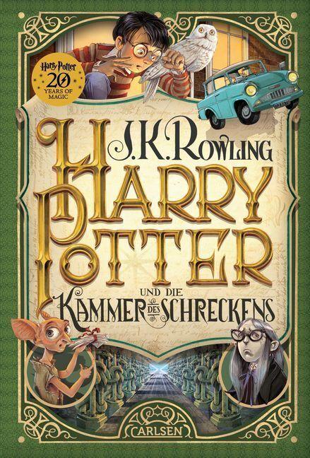 Harry Potter 2 und die Kammer des Schreckens | J.K. Rowling | 2018 | deutsch