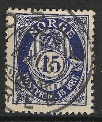 Oslo-serie (Norway 1920-29, NK 121 Son Oslo Serie B. 26-XI-25 (Grade 3))