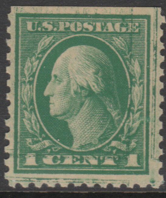 #498d 1¢ Double Impression Pos. 6 Cv $250 Bl5760