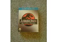 Jurassic Park 1,2,3 bluray