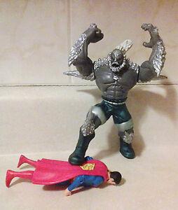 DC universe action figures (Superman, Batman)