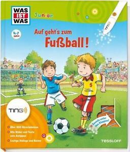 WAS IST WAS Junior TING: Auf geht's zum Fussball! Buch zum TING smart Hörstift