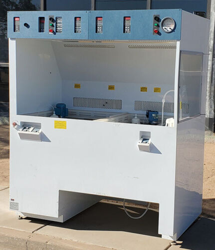 Wafer Process Systems SQFFH-VLF-550 Wet Bench