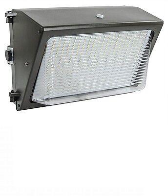Lights of America 65 Watt Dusk to Dawn LED Wall Pack (91465E2-BR5) 6000 Lumens