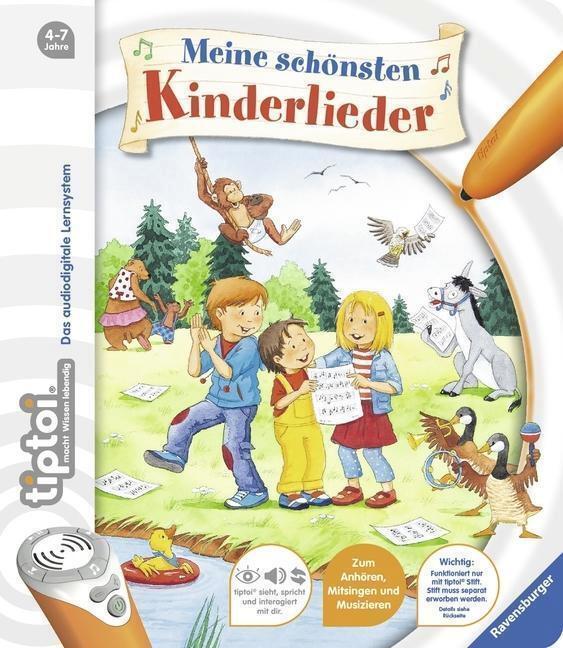 tiptoi® Meine schönsten Kinderlieder - Cee Neudert - 9783473435142 PORTOFREI
