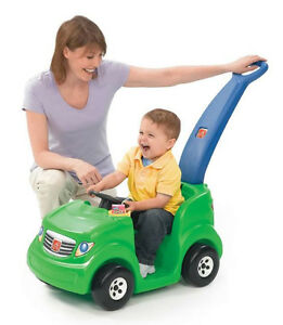 STEP2 RIDE-ON PUSH AROUND SPORTS BUGGY GREEN CAR
