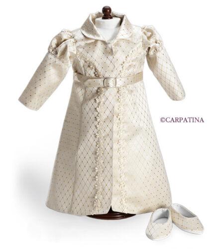 "Doll Clothes 18"" Coat Shoes Carpatina Regency Redingote fits 18"" AG Dolls"