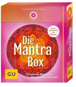 Die Mantrabox (Box mit Karten, Booklet und Audio-CD) von Anna Trökes und Lisa Fr