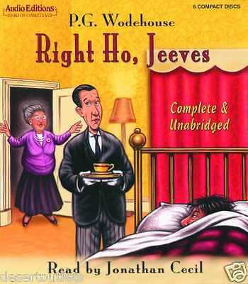 New! Right Ho, Jeeves by P.G. Wodehouse [Audio Book] [CD]