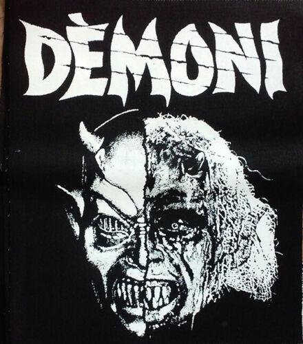 HORROR BACK PATCH - Demons movie - eurohorror Lamberto Bava Dario Argento