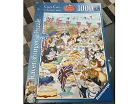 Ravensburger Crazy Cats 1000 piece jigsaw puzzle