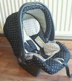 Mama's and papas car seat
